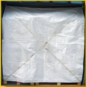 Container Awning Safety Net